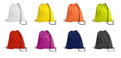 kleuren non woven rugzak